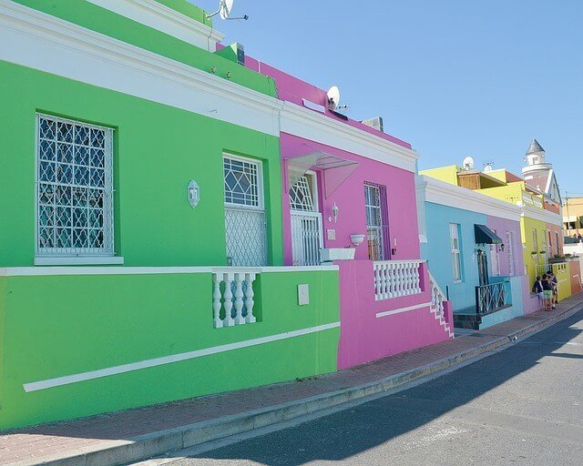 Colourful Bo Kaap in Cape Town