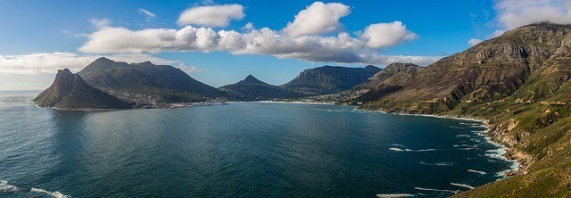 Hout Bay on Chapmans Peak Drive