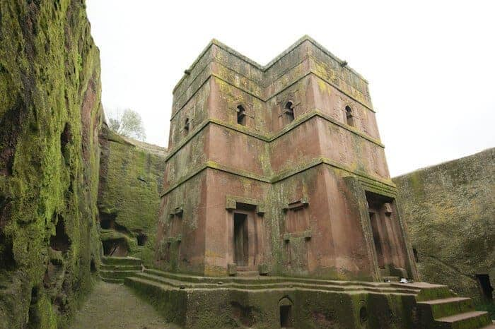 Rock churches at Lalibela