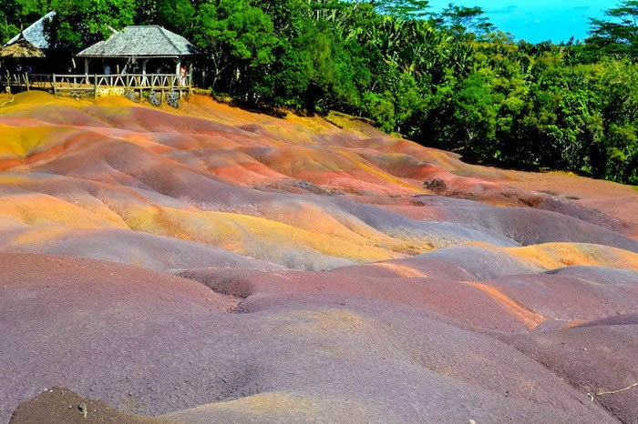 Seven Colored Earth in Mauritus