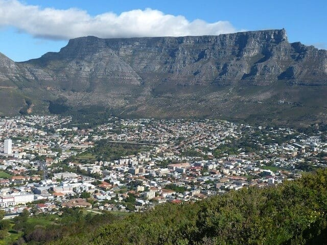 Table mountain - One fo the best places to visit in Cape Town