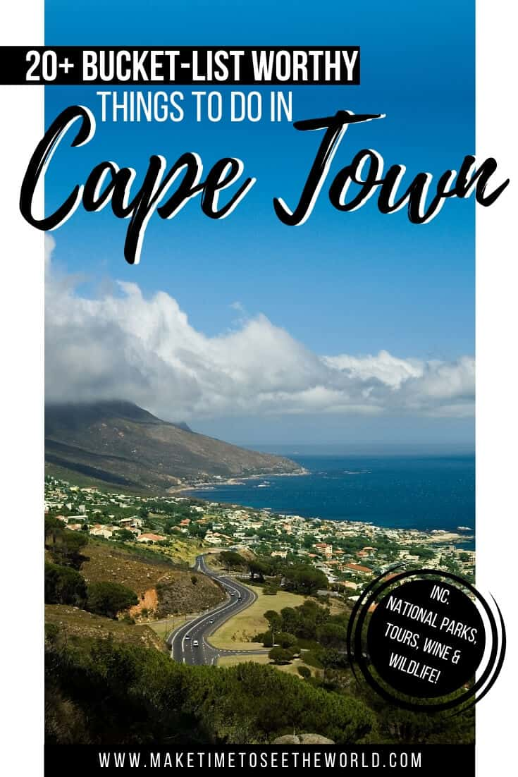 20+ Things to do in Cape Town & Places to Visit in Cape Town