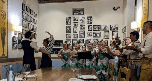Flamenco Dinner in Spain