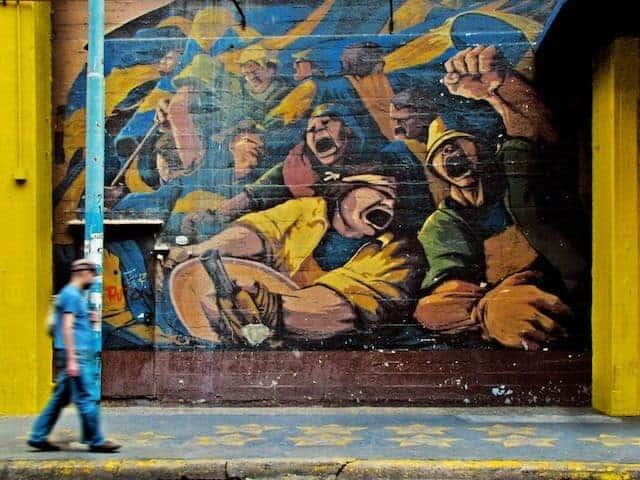 Grafitti in Buenos Aires