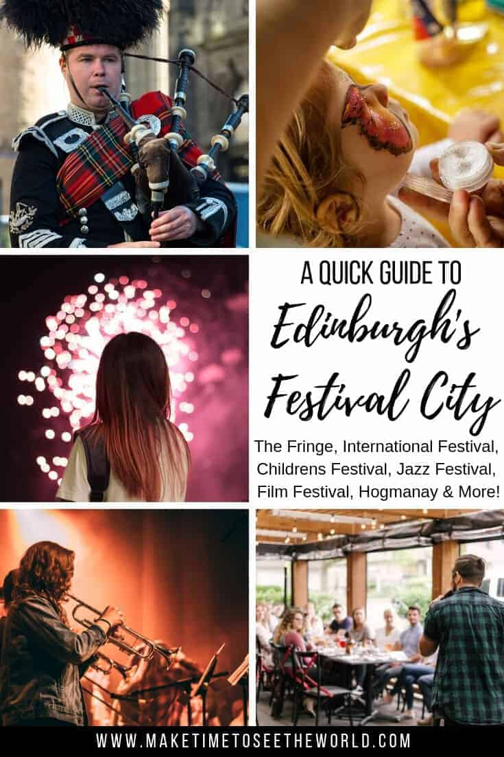 A Quick Guide to All 11 Edniburgh Festivals: