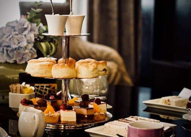 High Tea in a Hotel