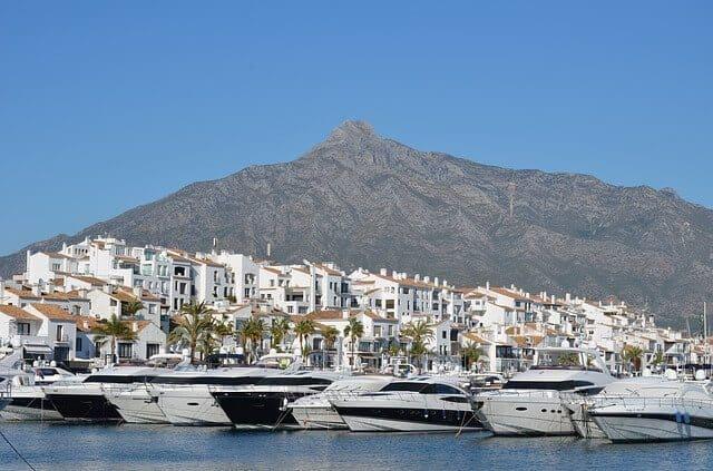 Puerto Banus Marbella Spain