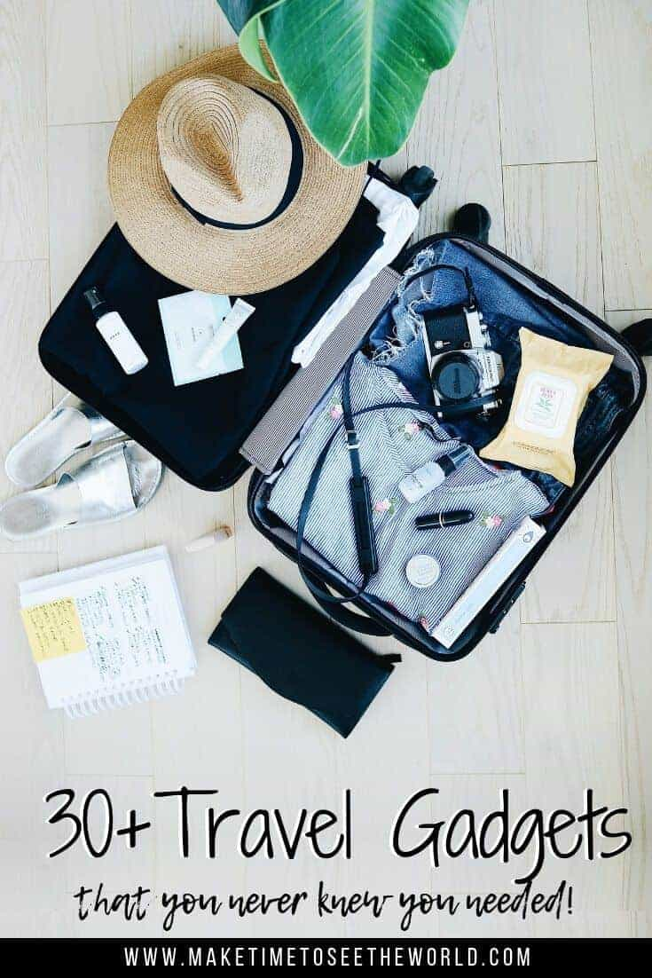 30+ Travel Gadgets You Never Knew You Needed