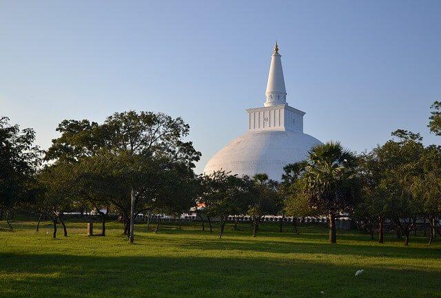 Giant White Stupa at Anuradhapura