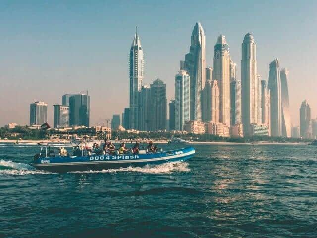 Go Splash Speedboat Tour Dubai