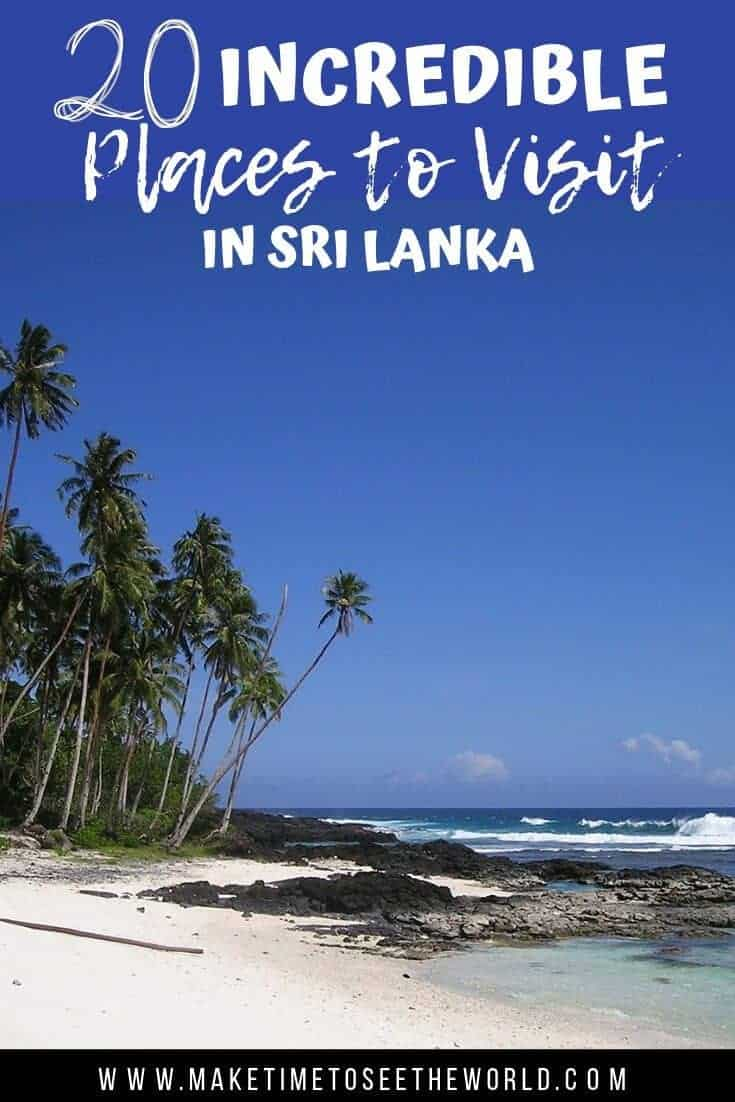 20+ of The Best Places to Visit in Sri Lanka #SriLanka #SriLankaTravel