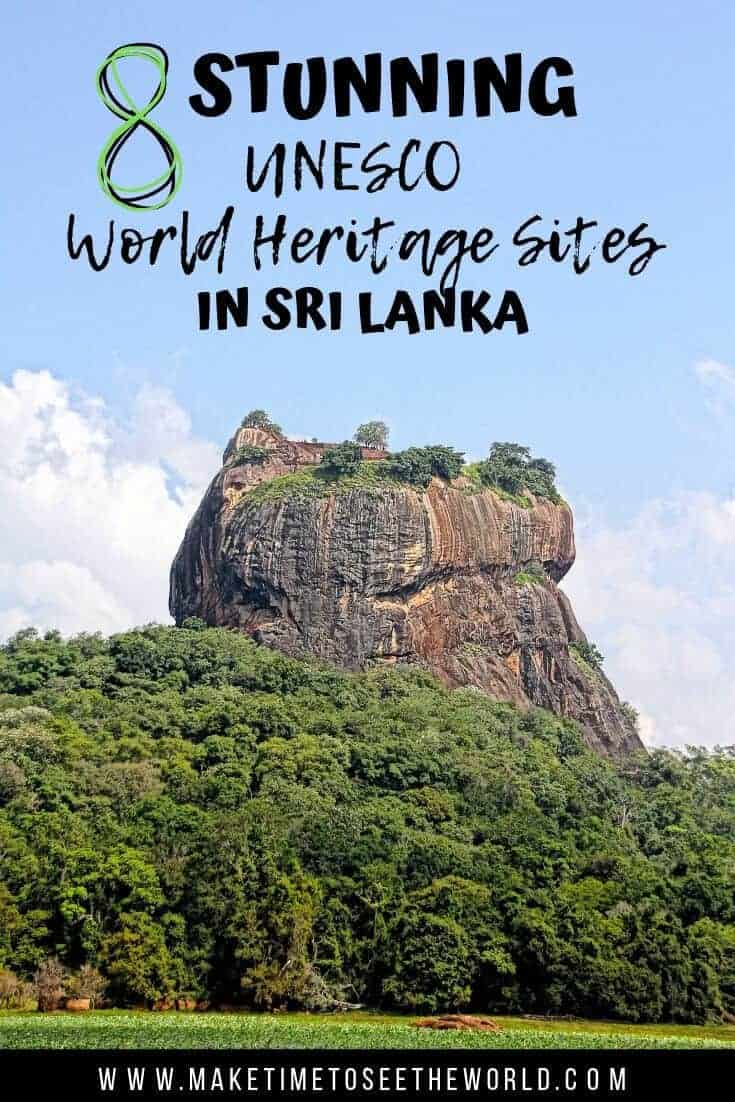UNESCO World Heritage Sites in Sri Lanka