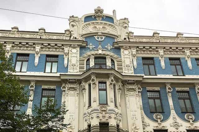 Art Nouveau Architecture, Riga