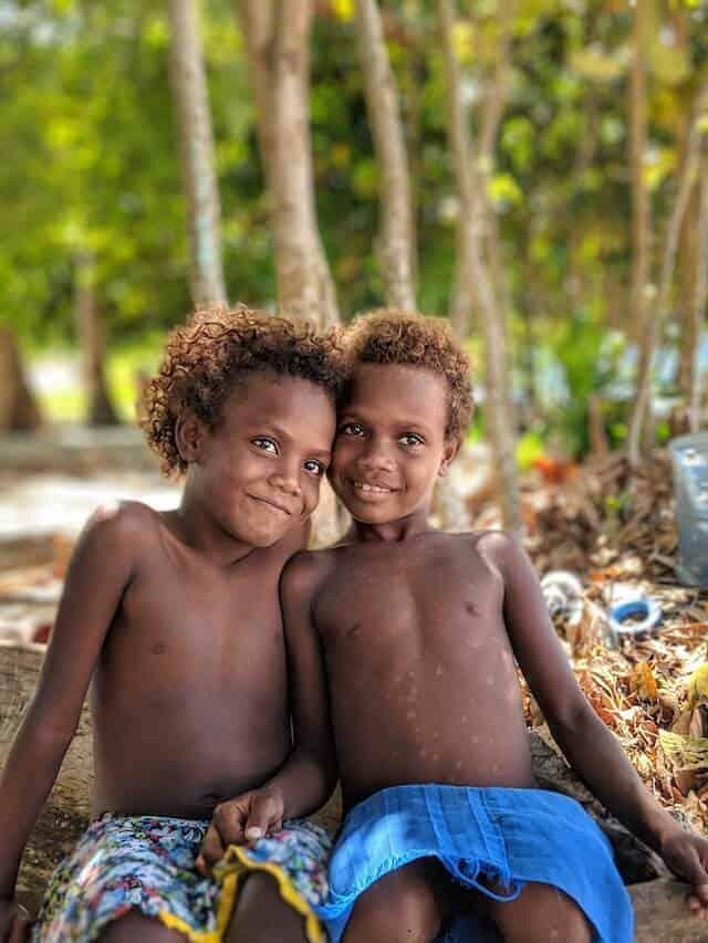Boys of Roderick Bay Village