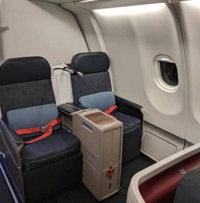 Business Class Seats on the A330 Turkish Airlines