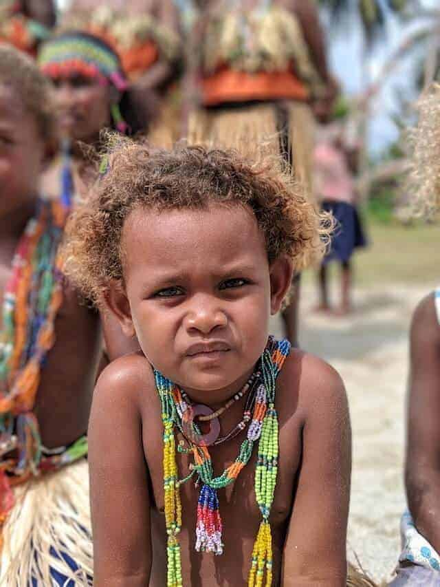 Curious - Solomon Island Child