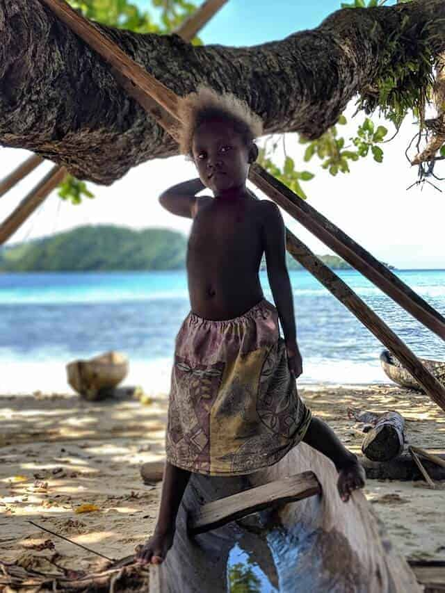 Children of the Solomon Islands