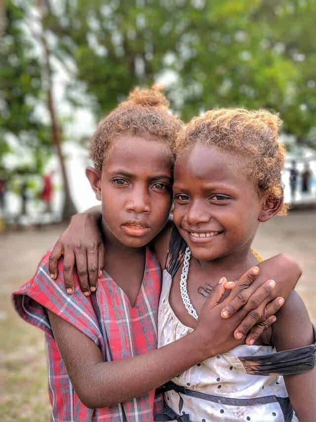 Friends - Children of the Solomon Islands