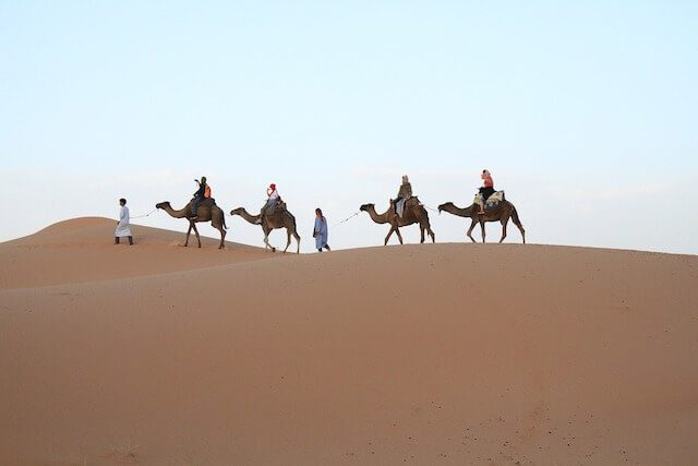 Exploring the Moroccan Desert