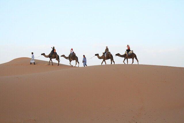 Exploring the Moroccan Desert