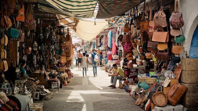 Medina in Morocco