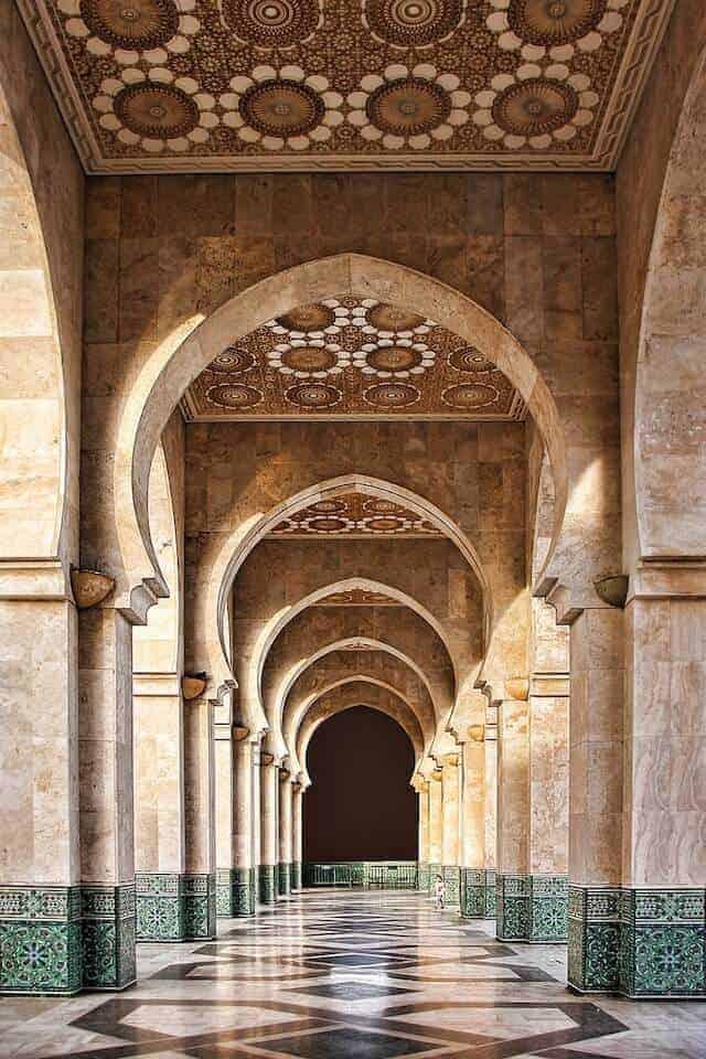 A Mosque in Casablanca