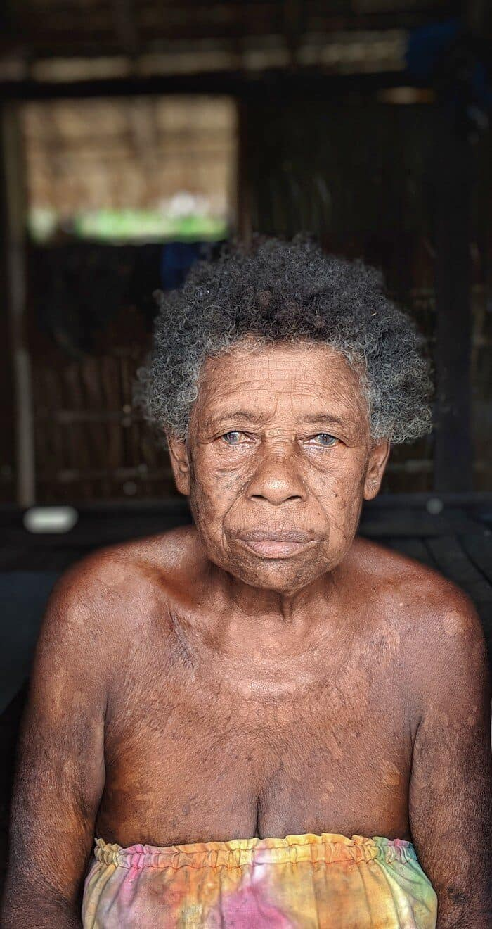Older Solomon Islands Lady