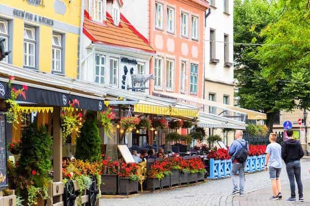 Restaurants in Riga Old Town