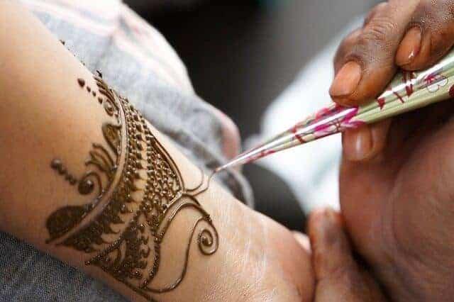 Henna Tattoo in Morocco