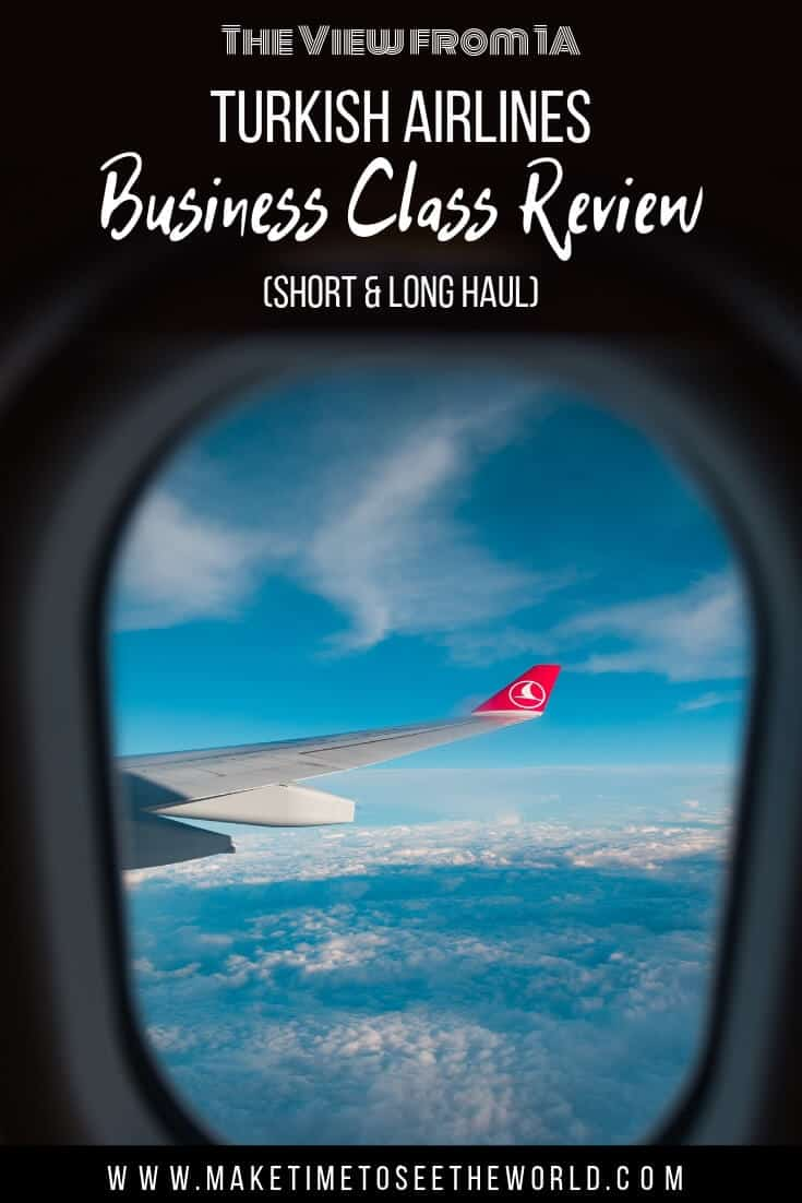 Turkish Airlines Business Class Review - short & long haul
