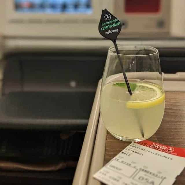 Welcome on Board Business Class Turkish Airlines