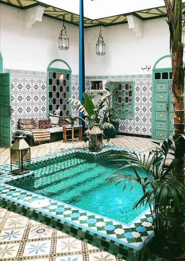 A Beautiful Moroccan Riad