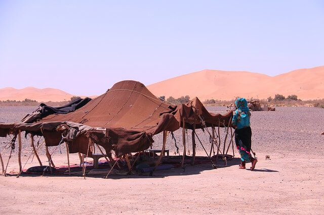 Berber Camp in Morocco