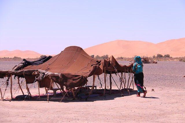 Berber Camp in Morocco