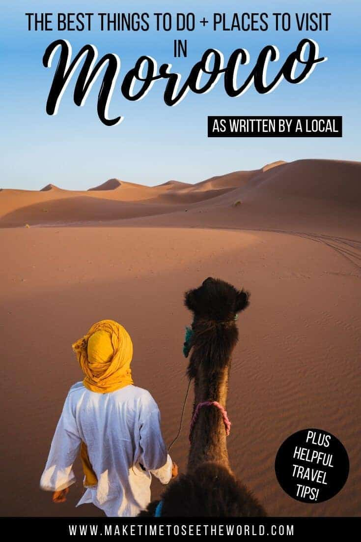 Best Places to Visit in Morocco + Morocco Travel Tips