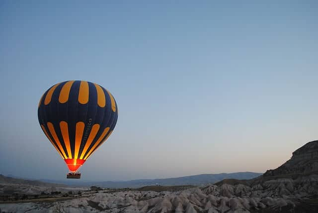 Hot Air Balloon in Morocco