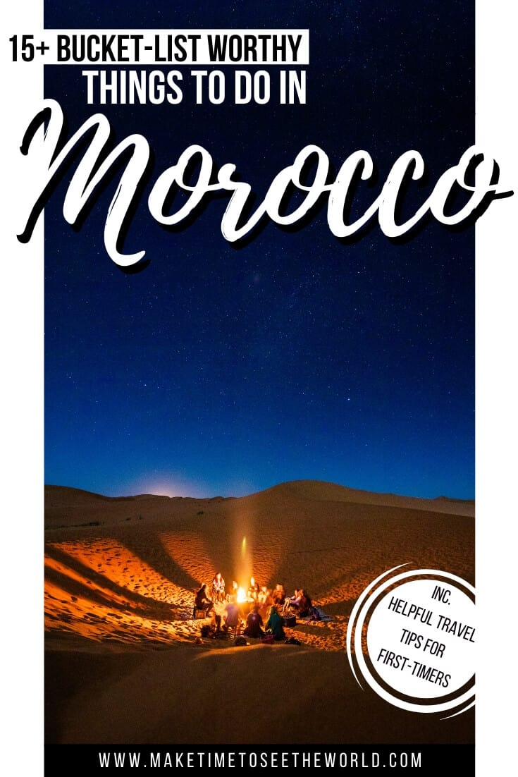 Places to visit in Morocco + Morocco Bucket List