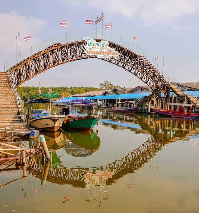 Baan Nam Chiao Community in Trat Thailand