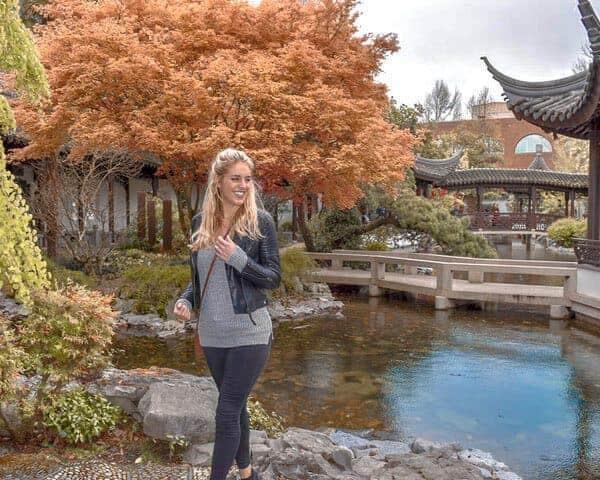 Chinese Garden in Portland Oregon
