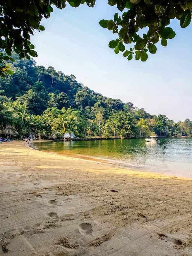 Koh Chang Beach in Trat Thailand