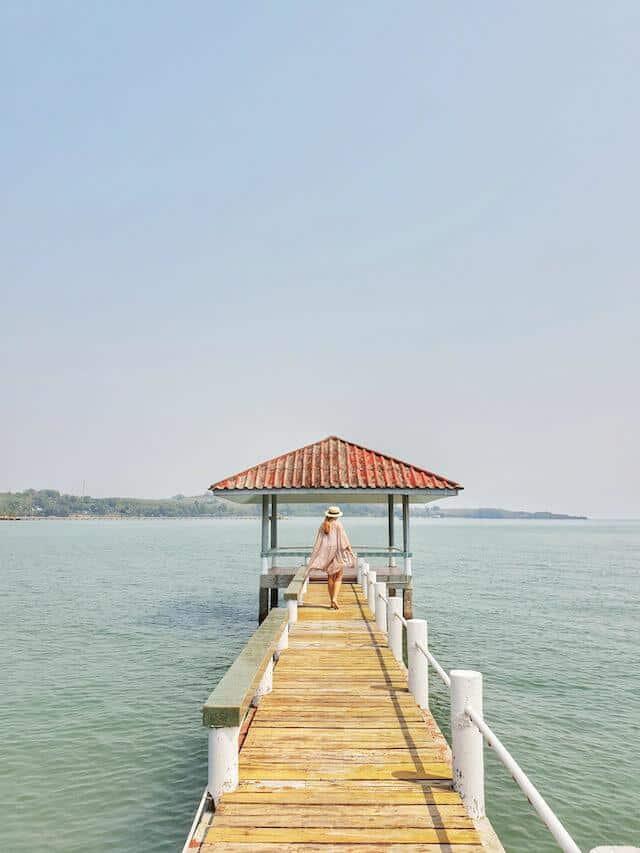 Koh Mak Pier in Trat Thailand