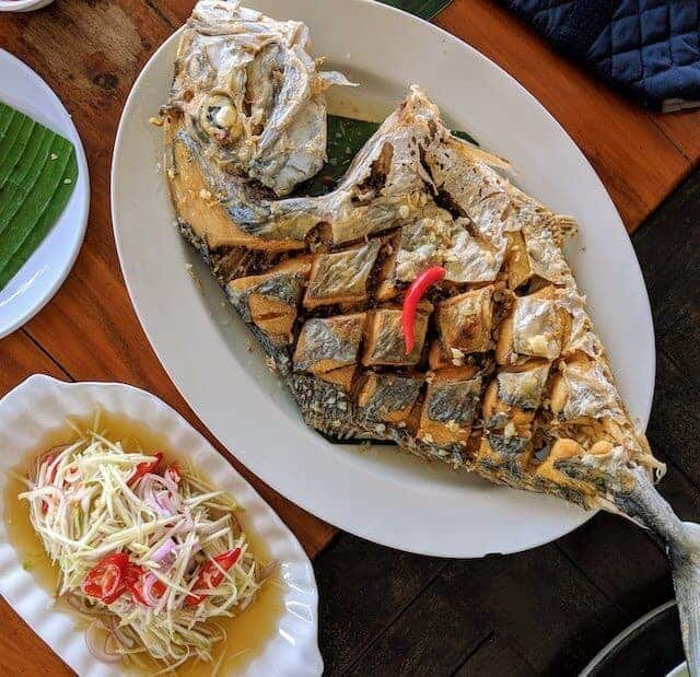 Local Seafood Thailand