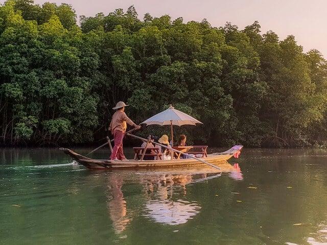 Salak Khok Mangrove Forrest