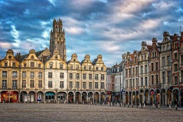Arras Historic City on a day trip from Paris