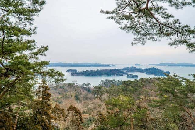 Matsushima Bay in the Miyagi Prefecture, Tohoku