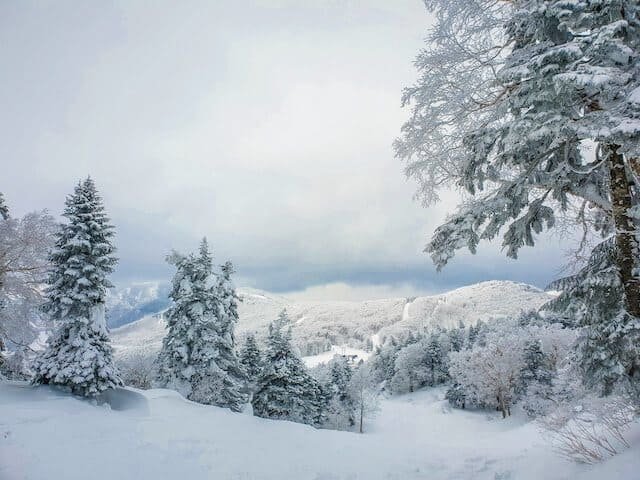 Zao Onsen ski fields, Tohoku region
