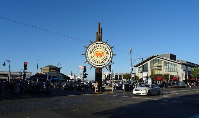 Fishermans Wharf sign in San Francisco