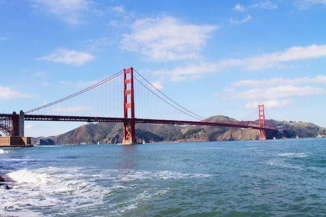 Golden Gate Bridge - one of the top things to do during 3 days in San Francisco