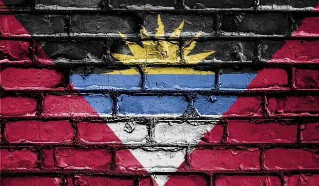 Antiguan Flag Grafitti
