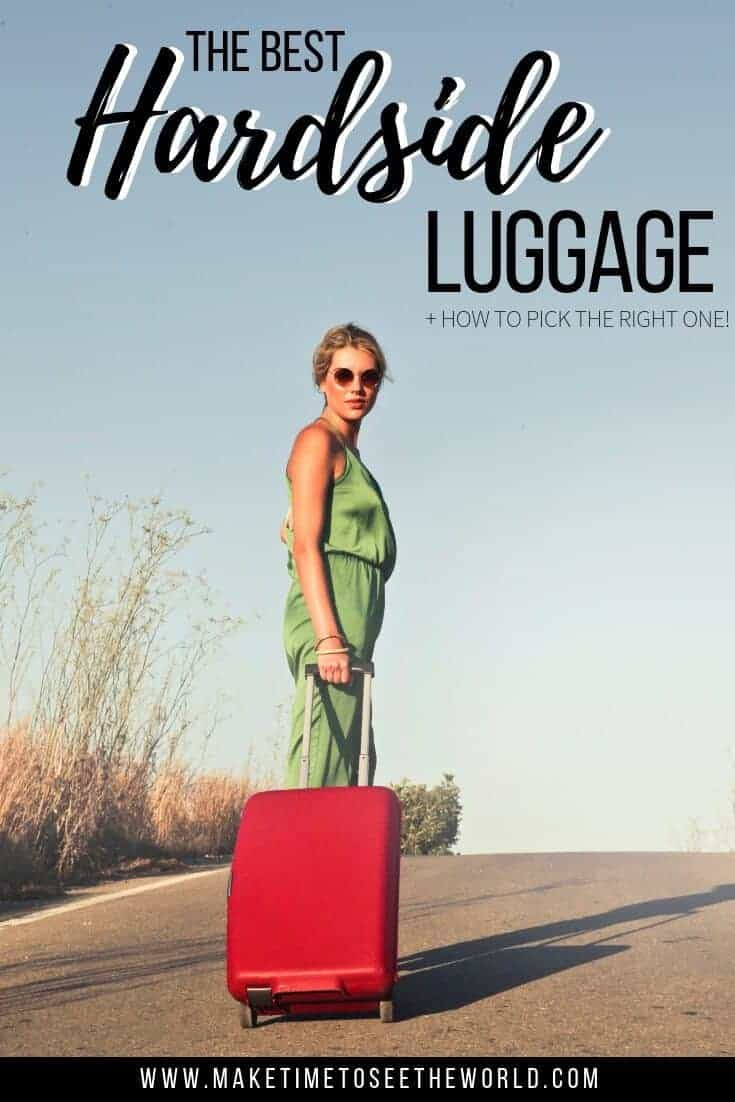 Best Hardside Luggage for Travel + How to Pick The Right One!